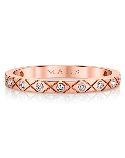 MARS Fine Jewelry MARS Jewelry 27281 Band Gold, Rose Gold, White Gold Wedding Ring