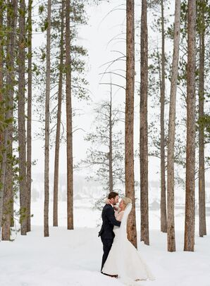 Rustic Yet Chic Winter Wedding