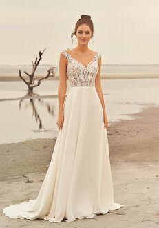 Lillian West 66097 A-Line Wedding Dress