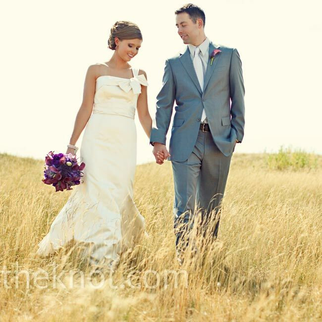 The Bride Emily Gundy, 26, a nurse anesthetist The Groom Nate Haupricht, 28, a physician's assistant The Date July 16  The sleek, minimal look inside