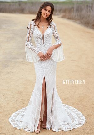 KITTYCHEN LULU, H1963 Sheath Wedding Dress