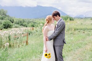 Mountain View Bride and Groom Couple Shots
