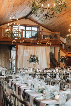 Rustic Reception at Gladden Farms in Watertown, Minnesota