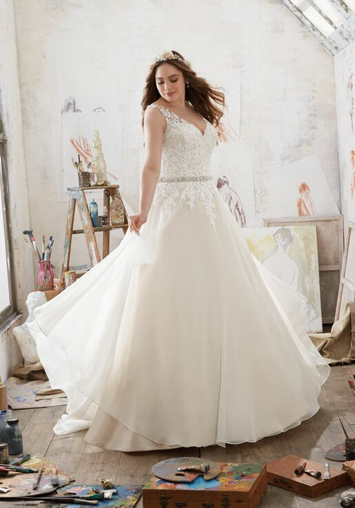 Morilee by Madeline Gardner/Julietta 3214 A-Line Wedding Dress