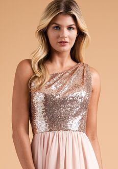 B2 Bridesmaids by Jasmine B223014 One Shoulder Bridesmaid Dress