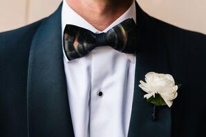 The groomsmen wore Brackish Bow Ties