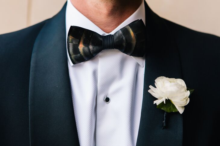 The company, based in Charleston, South Carolina, makes unique bow ties with different materials like feathers. Each bow tie is made individually, so no two are alike.