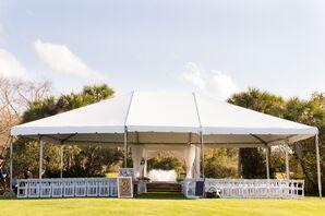 Tented Sea Palms Resort Ceremony