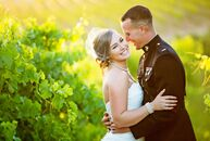 Ashley Stephens (25 and a hospitality manager) and Jamison Cunningham (24 and an officer in the United States Marine Corps) met in the 6th grade, but