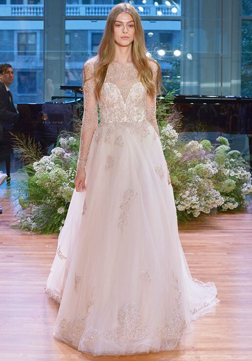 Monique Lhuillier Rhapsody Ball Gown Wedding Dress
