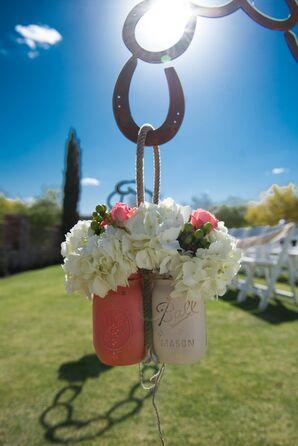 Horseshoe Shephard Hooks for Hanging Aisle Florals
