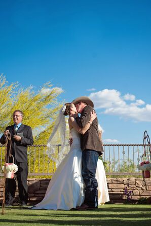 First Kiss at FireRock Country Club, Arizona