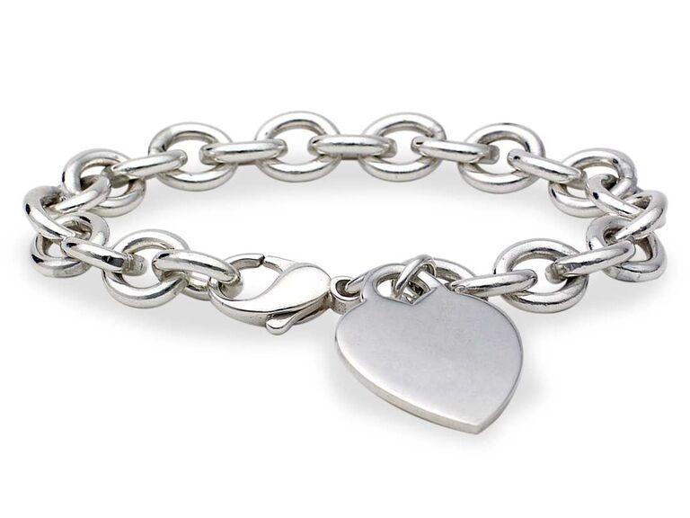 Heart bracelet gift for mother-in-law