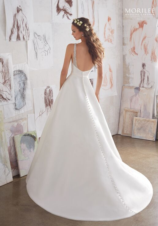 Morilee by Madeline Gardner/Blu 5516 A-Line Wedding Dress