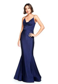 Bari Jay Bridesmaids 2007 V-Neck Bridesmaid Dress