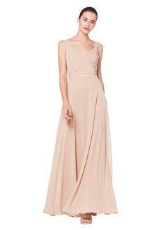 Bill Levkoff 1600 V-Neck Bridesmaid Dress