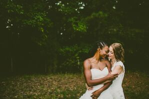 Same-Sex Wedding in Pittsboro, North Carolina