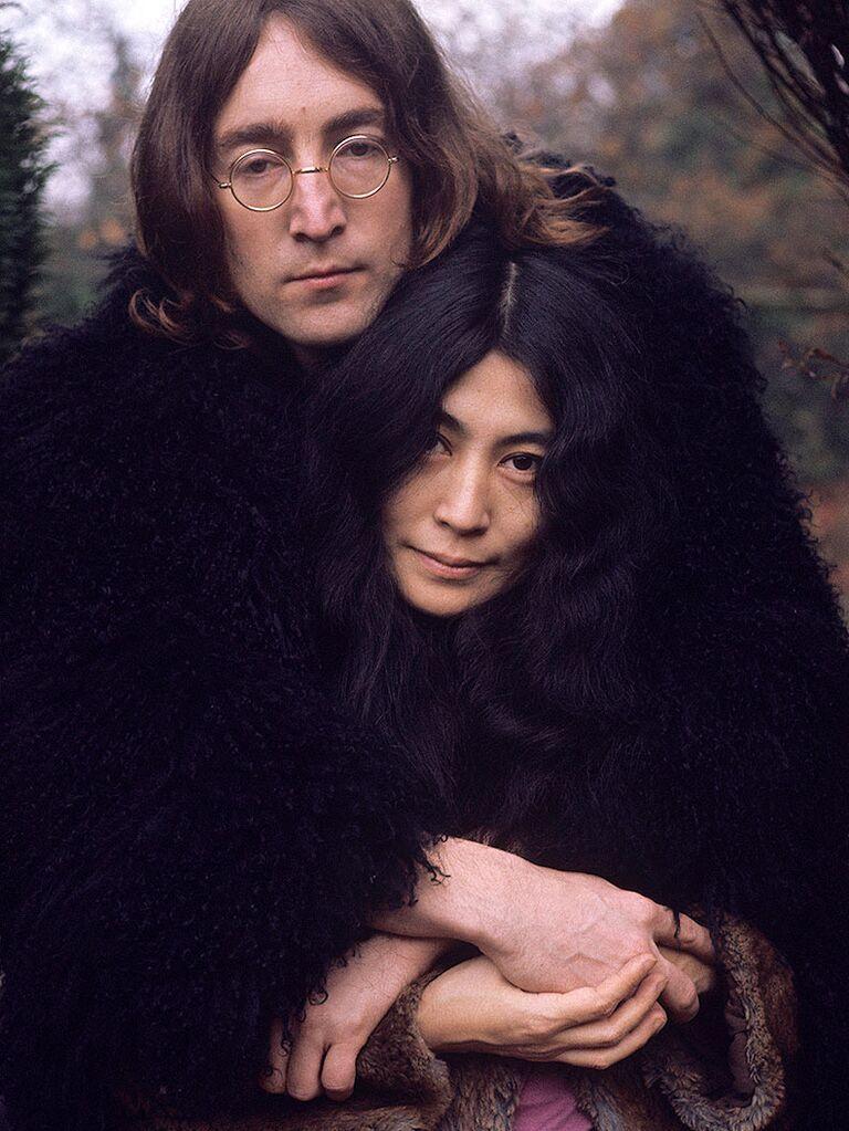 John Lennon and Yoko Ono famous celebrity couples