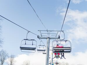 Ski Lift in Woodstock, Vermont