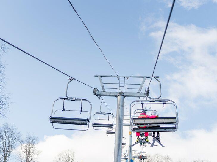 Ski Lift in Woodstock, Vermont