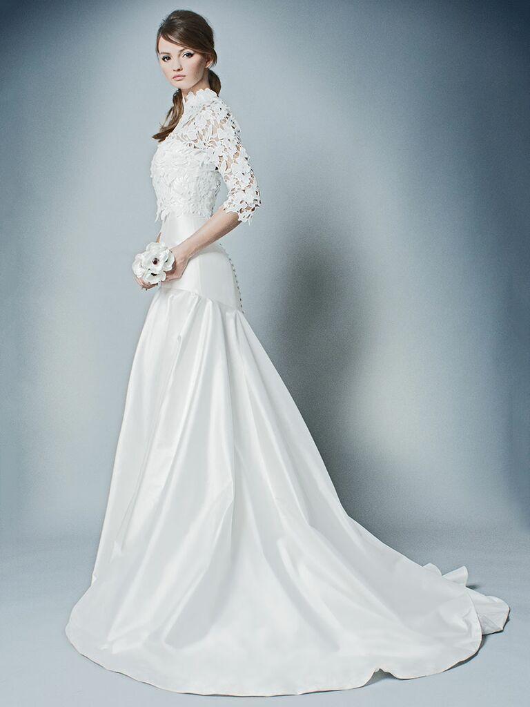 Romona by Romona Keveza Fall 2018 Collection: Bridal Fashion Week Pics