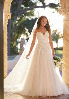 Stella York 7077 A-Line Wedding Dress