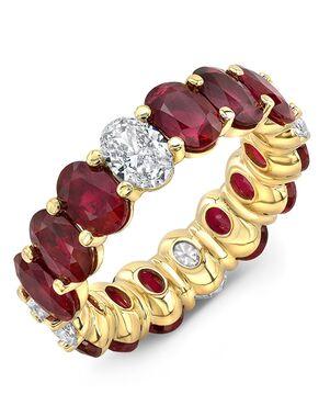 Uneek Fine Jewelry ETOVRUD Gold Wedding Ring