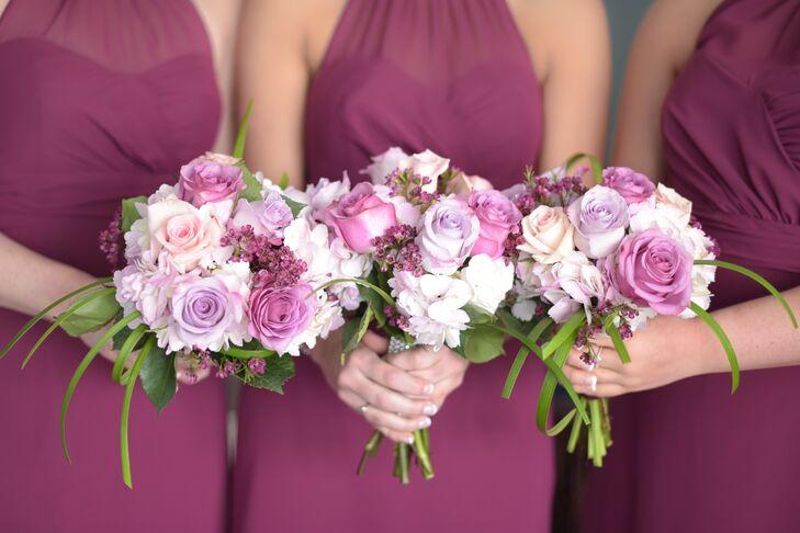 82f1b1f3c83 Alfred Angelo Sangria-Colored Bridesmaid Dresses