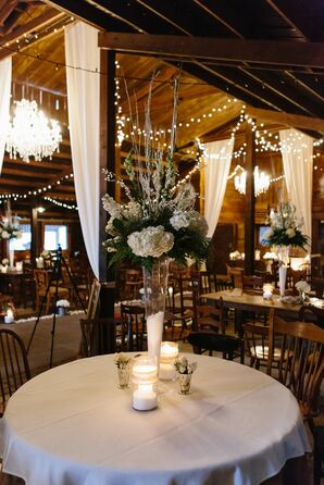 Plantation Farms Winter Barn Reception
