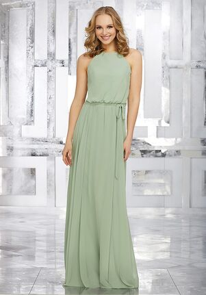 Morilee by Madeline Gardner Bridesmaids Style 21543 Halter Bridesmaid Dress