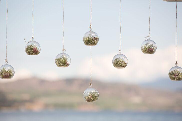 Hanging Glass Ball Terrarium Decor