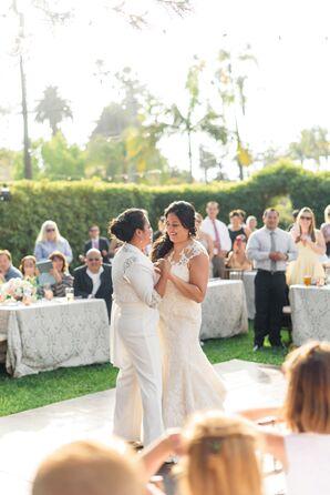 Dancing at Garden Reception