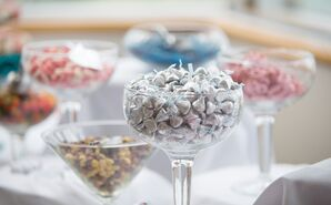Cup of Hershey's Kisses Candies