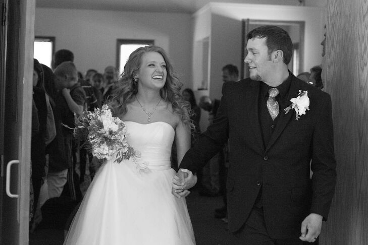 Bradi and Jed Recessional
