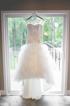 Custom Kenneth Winston Ball-Gown Wedding Dress