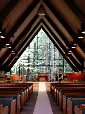 Rustic Valley Presbyterian Church in Portola Valley, California