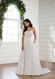Essense of Australia D3081 A-Line Wedding Dress