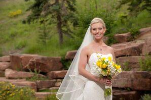 Simple Bridal Look