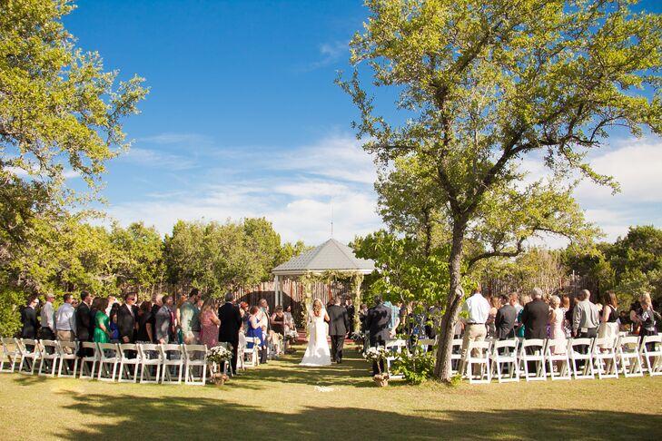 Wedding Ceremony at Star Hill Ranch