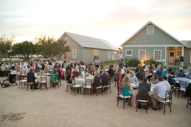 Shabby-Chic Reception at Star Hill Ranch
