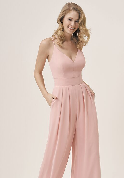 JASMINE P196053 V-Neck Bridesmaid Dress