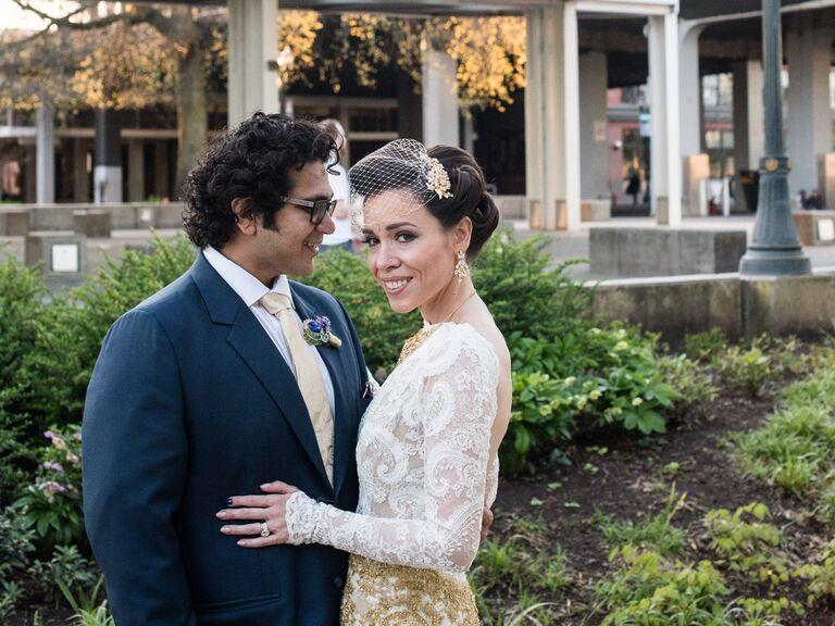 chic Oregon wedding
