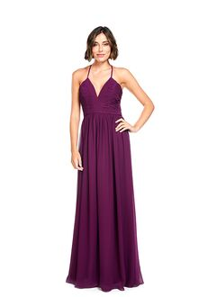 Khloe Jaymes DREW V-Neck Bridesmaid Dress