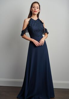 JASMINE P206061 Halter Bridesmaid Dress