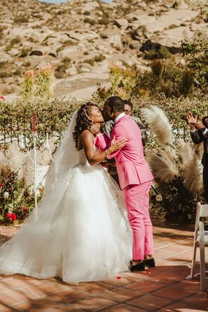 Modern Ceremony at Hummingbird Nest Ranch in Simi Valley, California