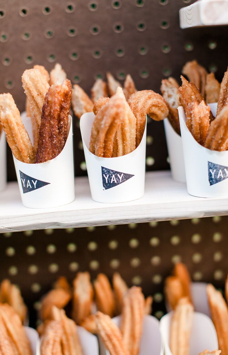 Churros in To-Go Containers