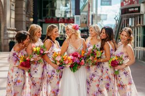 Colorful Show Me Your Mumu Bridesmaid Dresses