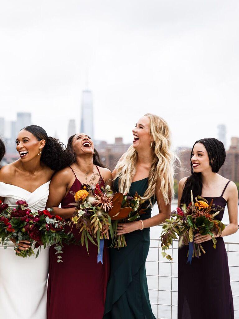 wedding braid hairstyles braids with centerpart