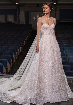 PRONOVIAS PRIVÉE VELEZ A-Line Wedding Dress