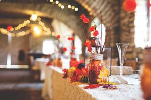 Fall Harvest Tablescape